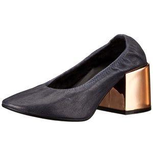 MM6 Madison Margiela metallic heel pump